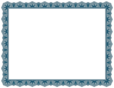 We have added nine fancy borders for creating award certificates. Here ...