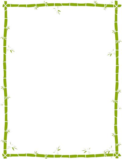 palm tree border clipart